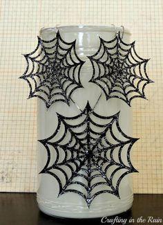 DIY Halloween Crafts : DIY also Spider Web Jewelry)