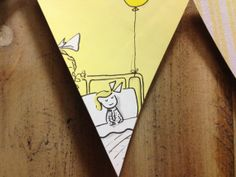 Madeline Bunting in Yellow by Xtrabuttons on Etsy, $15.00