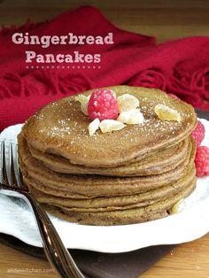 Gingerbread Pancakes   alidaskitchen.com