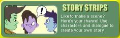 Story Strips--practice comic book skills.