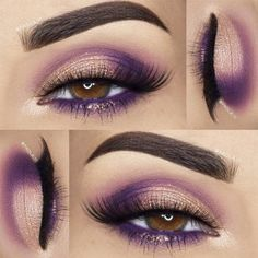 Pretty Makeup Ideas for Light Brown Eyes picture 2