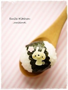 Small rabbit onigiri