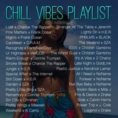 Chill music to listen to at any time  Relax your mind with some smooth R&B & Rap