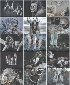 Bones Witch aesthetic