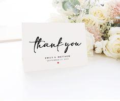 Wedding Menu Cards, Wedding Signage, Wedding Thank You Cards, Thank You Postcards, Thank You Note Cards, Blush Wedding Theme, Welcome To Our Wedding, Seating Chart Wedding, Personalized Wedding