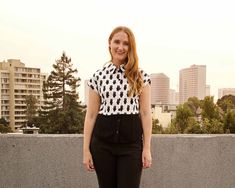 Made By Meg: Button-Front Shirts with Cut-on Sleeves