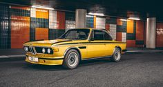 A gold rush of adrenalin with the BMW 3.0 CSL | Classic Driver Magazine