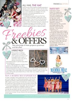 We are so pleased to be featured in #yourlondonwedding County Wedding Magazines. Thank you so much