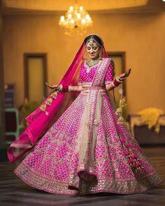 Pink Bridal Lehenga, Lehenga Wedding, Designer Bridal Lehenga, Pink Lehenga, Bollywood Lehenga, Indian Bridal Outfits, Bridal Dresses, Wedding Outfits, Wedding Dress