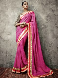 Natasha Couture New Classy Sarees Collection 2014-15 | Summer And Party Wear Sarees Collection For Girls
