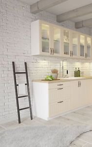 kuechenzeile einbaukuche landhaus san marino erweiterbar kuche mdf - Kuchenzeile L Form