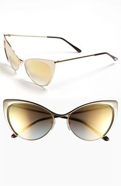 Obsessed with these Sunglasses- Tom Ford 'Nastasya' 56mm Sunglasses available at #Nordstrom