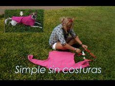 DIY; ABRIGO Ropa para Perro, Muy facil ! - YouTube