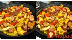 Poľská zemiaková pochúťka z jednej panvice: Veľmi chutný obed za pár drobných – za minútku hotové! Paella, Food And Drink, Ethnic Recipes, Sweet, Candy