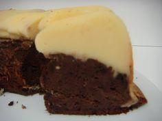 Cheese cake and chocolate - Pastís de formatge i xocolata - no tot són postres... a la cuina