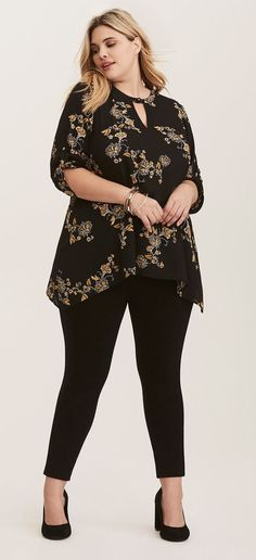 865d020cce370 Plus Size Sharkbite Top - Plus Size Fashion for Women  plussize Plus  Fashion