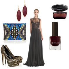 Delicate Elie Saab #gown in this lovely Glamour Time #outfit