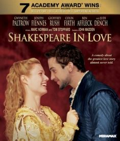 Shakespeare in Love (1998) movie #poster, #tshirt, #mousepad, #movieposters2