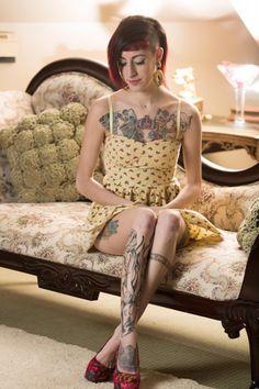 skinny punk girl
