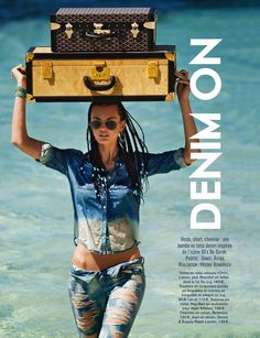 visual optimism; fashion editorials, shows, campaigns & more!: ali stephens by daniel riera for glamour france august 2013