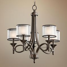 Kichler Lacey Collection 5-Light Chandelier -