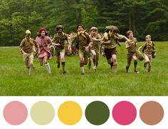 RWalt Bishop: Our daughter's been abducted by one of these beige lunatics! Wes Anderson Pallettes