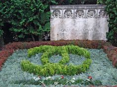 Grave Marker- Coco Chanel. She died on Sunday, January 10, at the Hotel Ritz where she had resided for more than 30 years. Her grave is located in the Bois-de-Vaux Cemetery, Lausanne, Switzerland.
