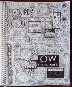 "Oh Wonder Fanart IG: @bethanyspaniel ""S k e t c h b o o k M a d n e s s"" #ohwondermusic"