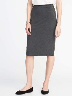 2373971acde4a Old Navy Fitted Jersey-Knit Pencil Skirt for Women