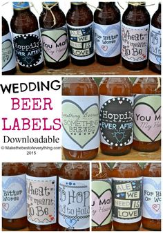 Please visit my ETSY shop if you would like to purchase these wedding Beer Labels. These are the wedding Beer labels that I sell in my Etsy Shop. I wanted to devote a page to them on by blog in addition to the shop listing, so you can see better, bigger photos. For those of you who are getting married and plan on serving craft beer, these labels would be super cute to have as a wedding favor, to include as gifts for your wedding party, to include as decor at a beer loving bride's…
