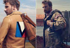Matthias #Schoenaerts for Louis #Vuitton Men's Bags Spring-Summer 2014 Campaign | via Pursuitist