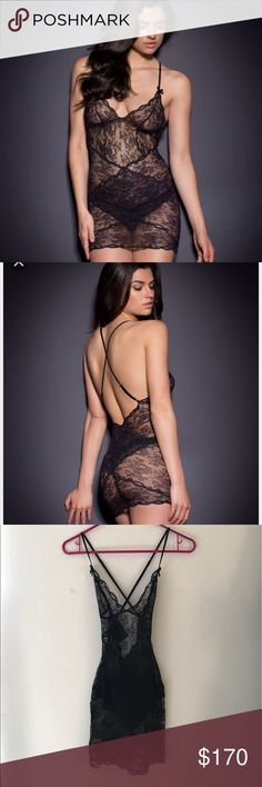 a50a752865 NWT - Agent Provocateur Love slip in black Agent Provocateur s bestselling  Love range has been updated