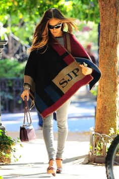 Of course Sarah Jessica Parker would have monogrammed clothing. Of course she would. <3