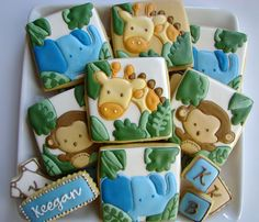 Safari Baby Cookies