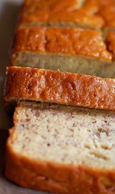 Buttermilk Banana Bread from kitchenconfidante.com