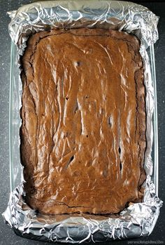 "Chocolate Brownies are the iconic dessert you crave! Learn how to make ""Better Than Box"" Chocolate Brownies with our amazingly simple brownie recipe! Brownie Recipes, Cookie Recipes, Dessert Recipes, Cookie Desserts, Pie Recipes, Chocolate Banana Bread, Chocolate Brownies, Great Desserts, Delicious Desserts"