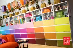 Paint Chip Cabinet Doors