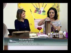 Mulher.com 13/07/2012 - Marisa Magalhães - Caixa de vinho com papel text...