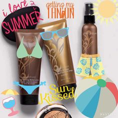 Who's ready for summer? I can't wait to try our new sunkisses bronzers.