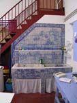 Azulejos por la cocina