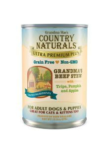 Country Naturals Dog Food - Ultra Premium Plus Beef Stew
