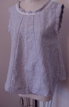 corey & co /stripes 2 ways top