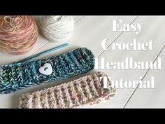 Super Easy Crochet Headband Tutorial - Confessions of a Homeschooler