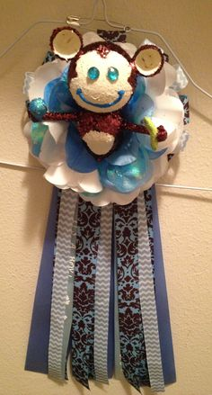 Newest creation baby shower mum with monkey :)