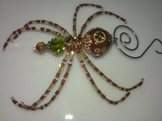 Christmas Spider  Brown by goosecrossingfarm on Etsy, $24.00