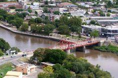 el puente desde el cielo...