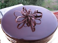 Sacher torte Dessert  (da un'idea di Paco Torreblanca)
