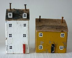 Little houses made by CONTACT ME kirstyelsondesigns@live.co.uk