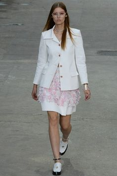 A fabulous fashion protest  Chanel  Paris fashion week  30 September 2014 Spring/Summer 2015 Ready-To-Wear