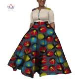 2019 African Dresses For Women Dashiki African Dresses For Women Colorful Daily Wedding Size Ankle-Length Dress African Clothes, African Dresses For Women, African Attire, Dashiki, Traditional Outfits, Ankle Length, Gowns, Wedding Dresses, Casual